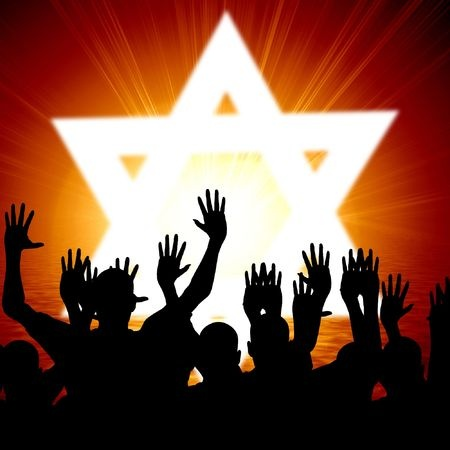 some-jewish-people-celebrating-beneath-the-star-of-david